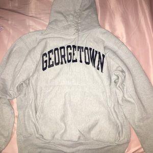georgetown champion hoodie